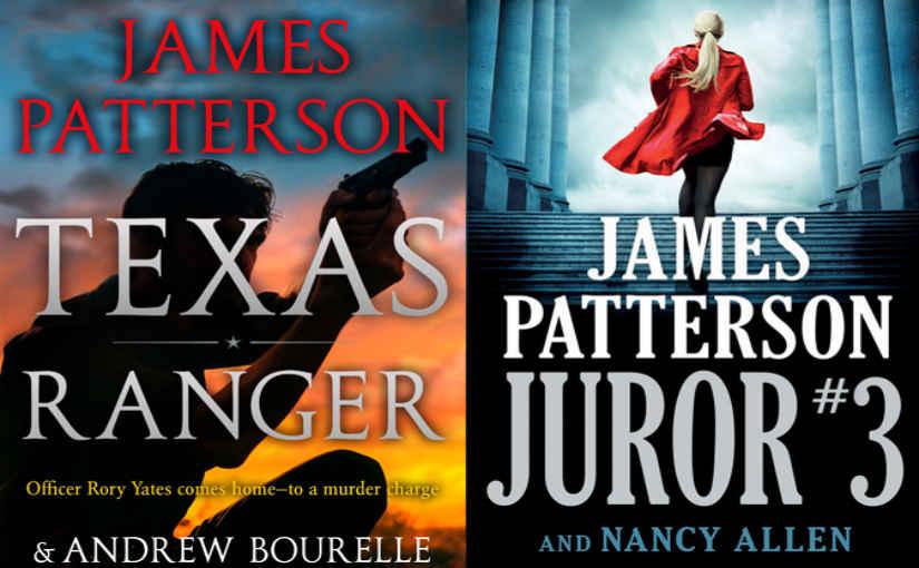 حضور دو کتاب از جیمز پترسون در فهرست پرفروشها